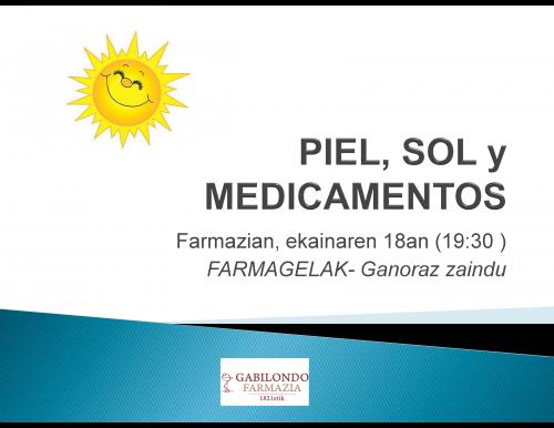 Farmagela Piel, Sol y Medicamentos