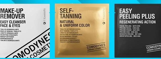 limpieza, exfoliacion y tanning COMODYNES