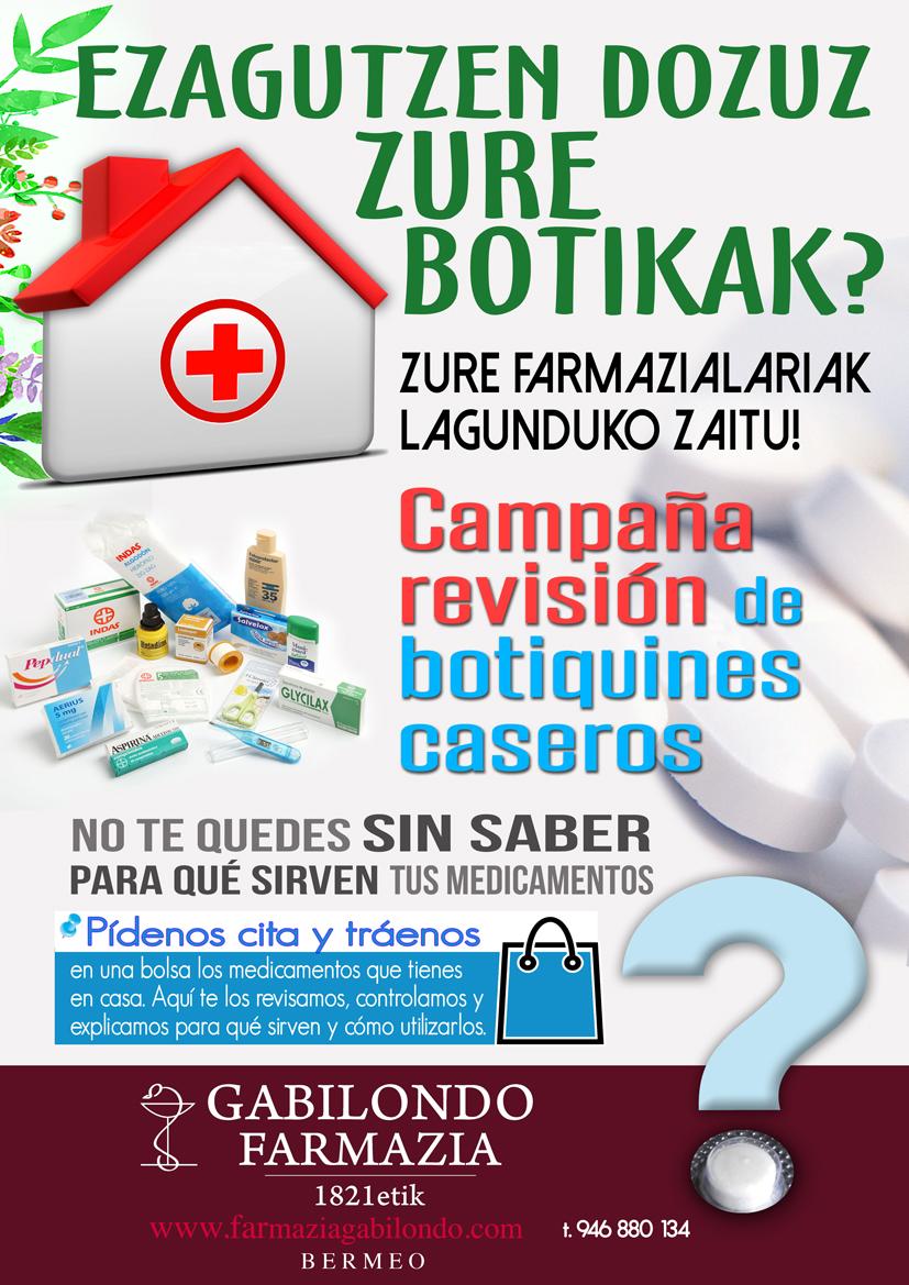 Nuevo Servicio de Revisión de Medicamentos; Ezagutzen dozuz zure botikak?