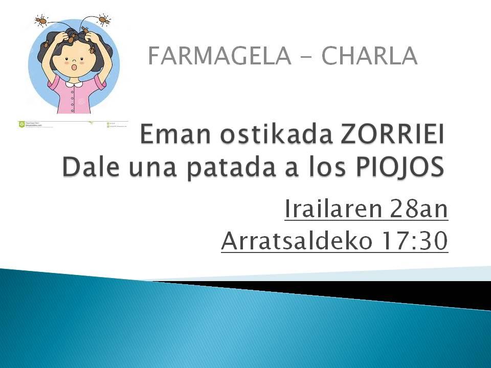 Emon ostikada ZORRIEI. 28 de septiembre: Dale una patada a los PIOJOS
