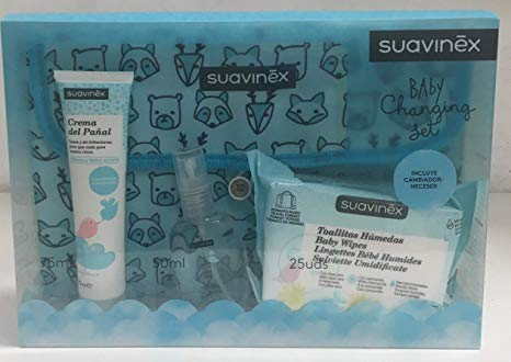 SUAVINEX BABY CHANGING SET – 19,95€